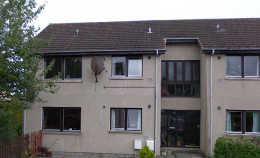 2 BEDROOM FIRST FLOOR FLAT KINLOSS TO LET